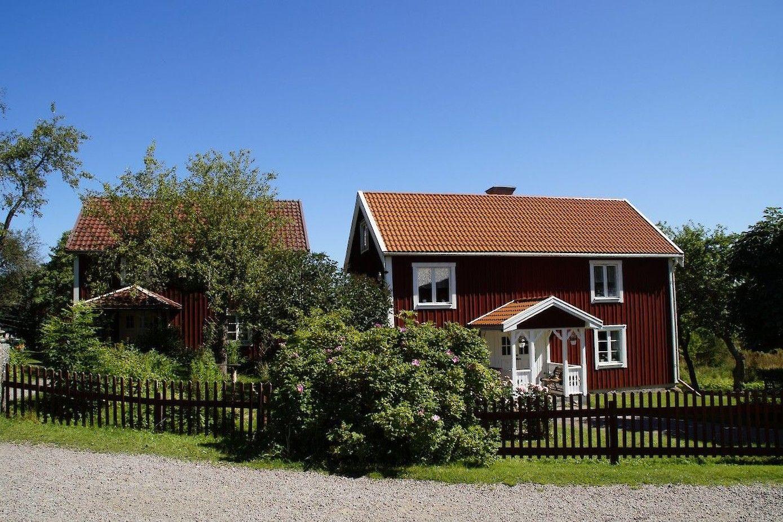 Free een echt zweeds huis with wat kost een houten huis for Wat kost het schilderen van een huis